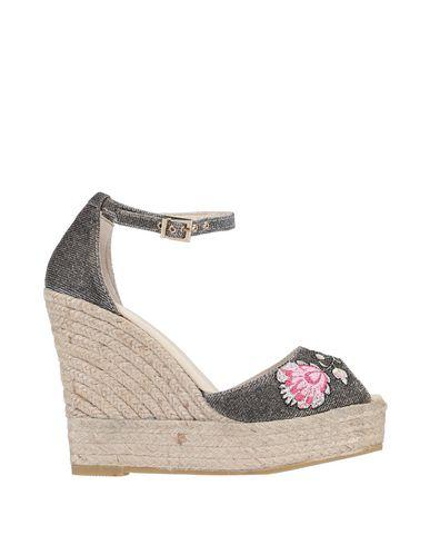 Фото - Женские сандали ESPADRILLES бронзового цвета