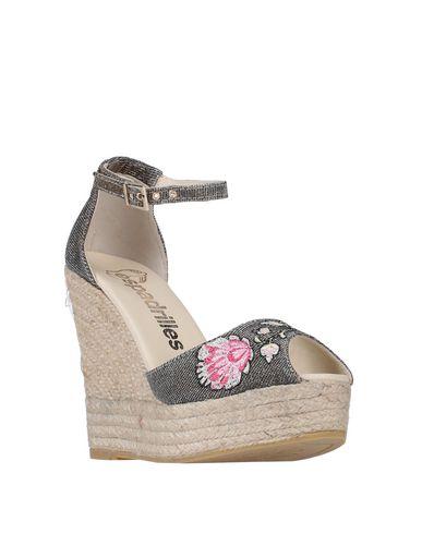 Фото 2 - Женские сандали ESPADRILLES бронзового цвета
