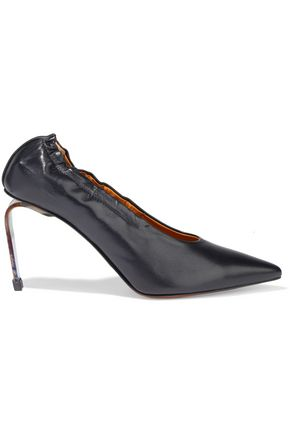 CLERGERIE Amant gathered leather pumps