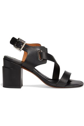 CLERGERIE Alba leather slingback sandals