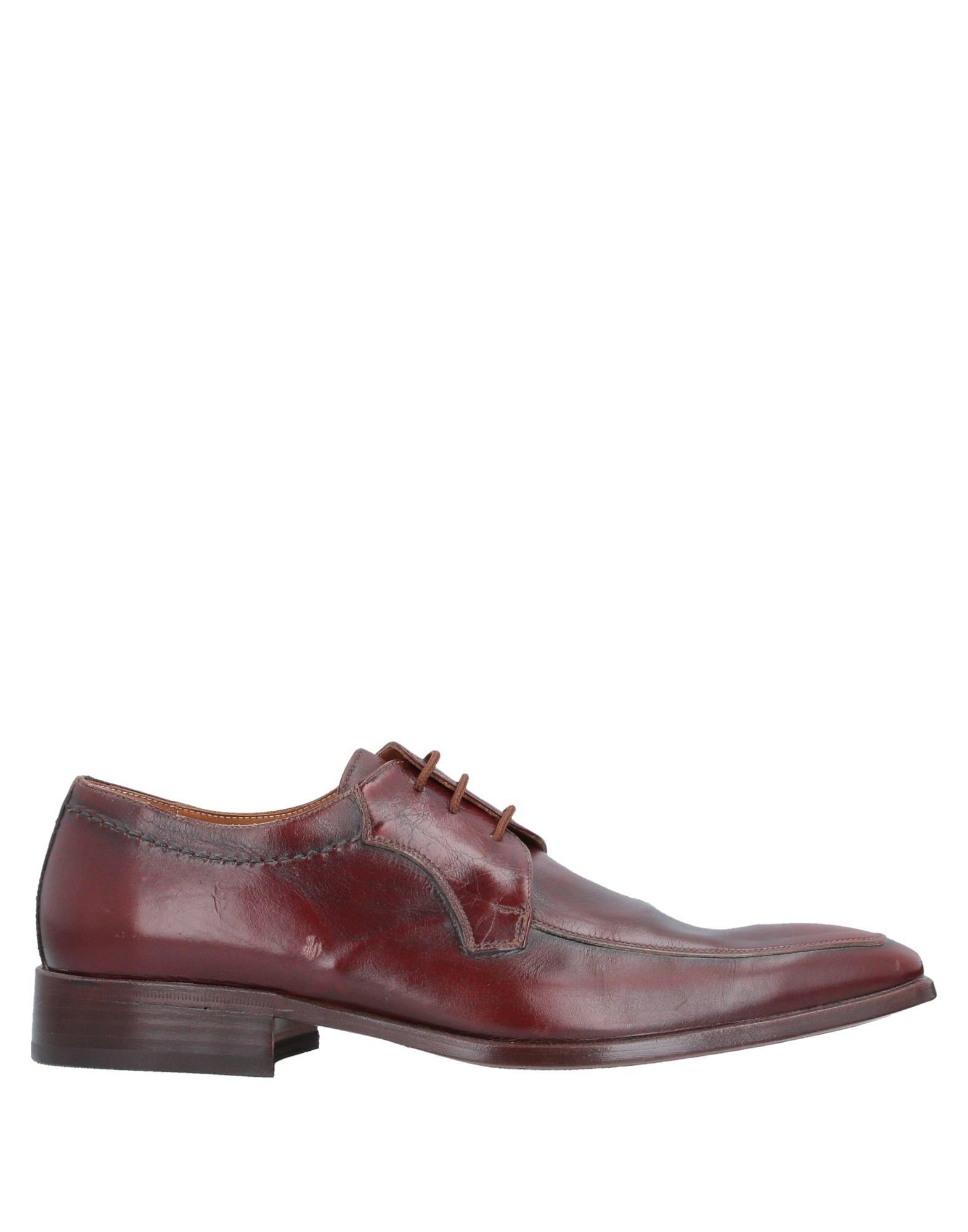 GENNY LAV. ARTIGIANA VARESE Обувь на шнурках bottega artigiana вьетнамки