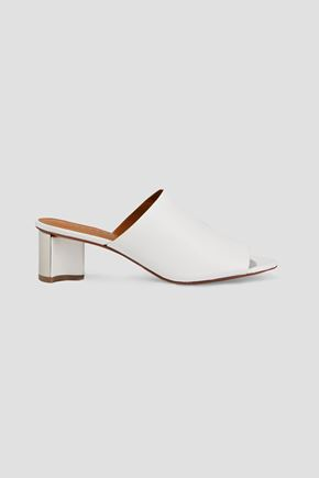 CLERGERIE Agile leather mules