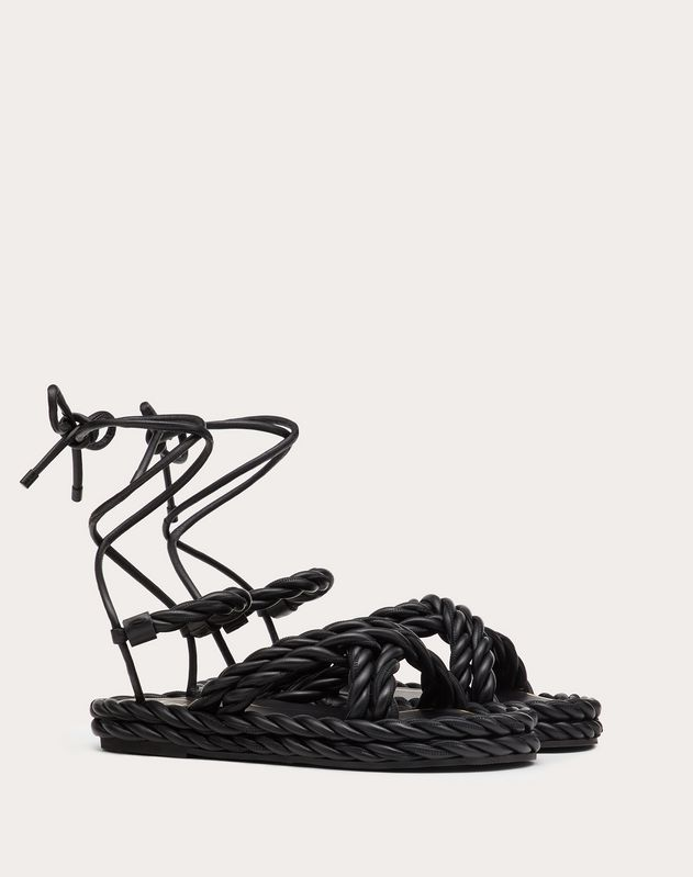 Sandalen The Rope aus Nappaleder