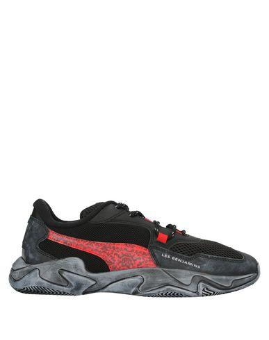 Фото - Низкие кеды и кроссовки от PUMA x LES BENJAMINS черного цвета