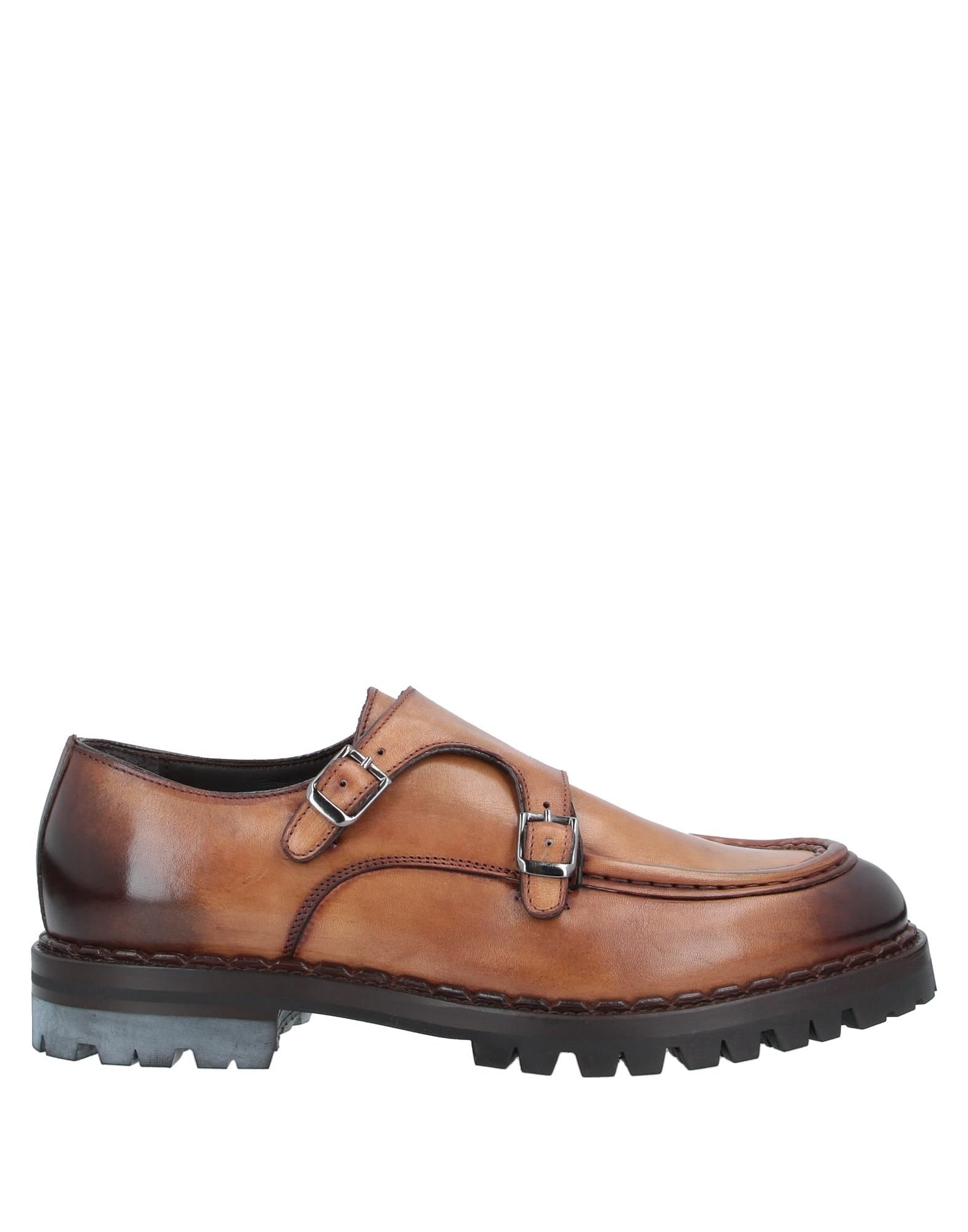 ELEVENTY Loafers. no appliqués, solid color, buckle fastening, round toeline, square heel, rubber heel, leather lining, lug sole, contains non-textile parts of animal origin, small sized. Soft Leather