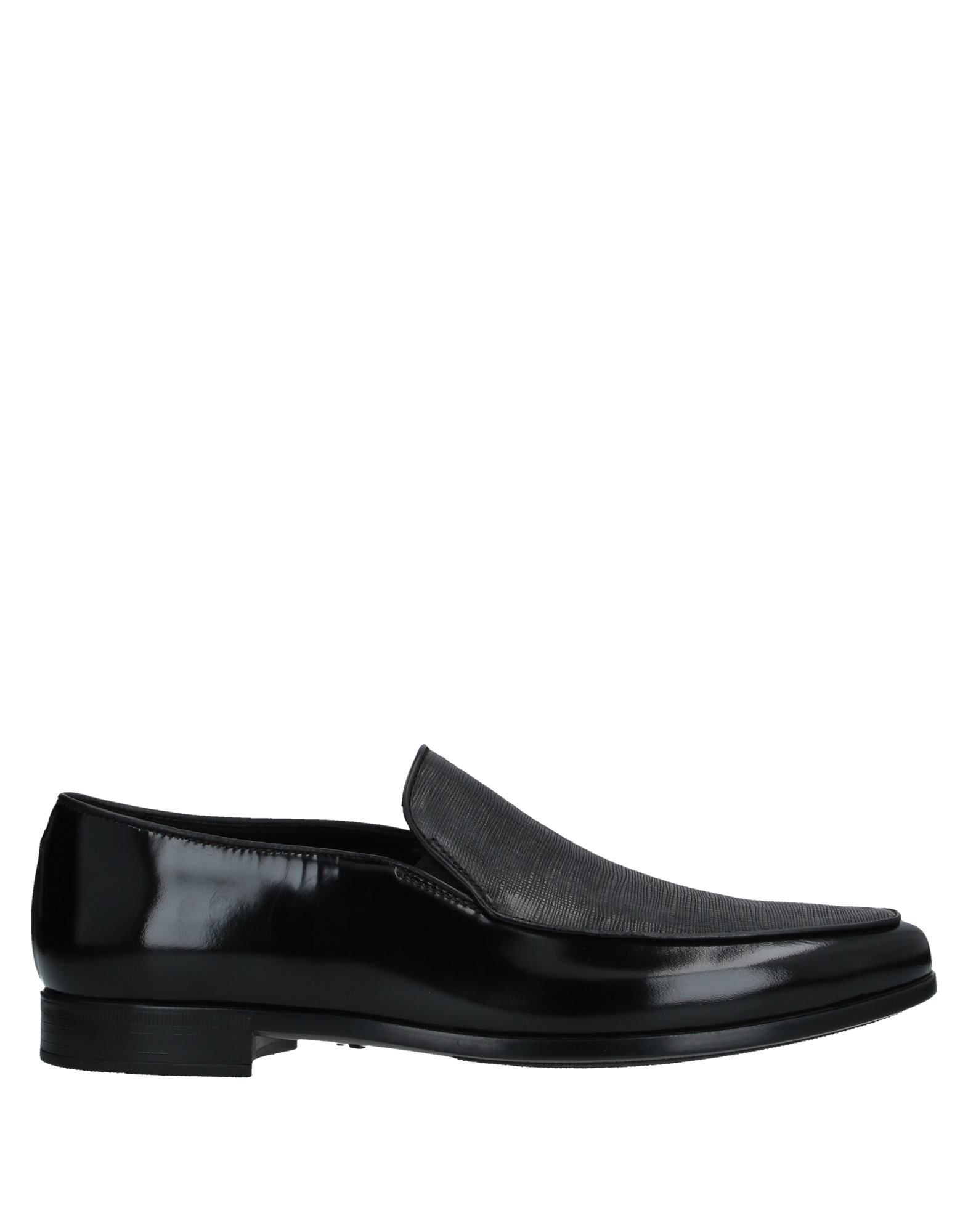 GIORGIO ARMANI Loafers. leather, no appliqués, solid color, round toeline, flat, leather lining, rubber sole, contains non-textile parts of animal origin. Soft Leather
