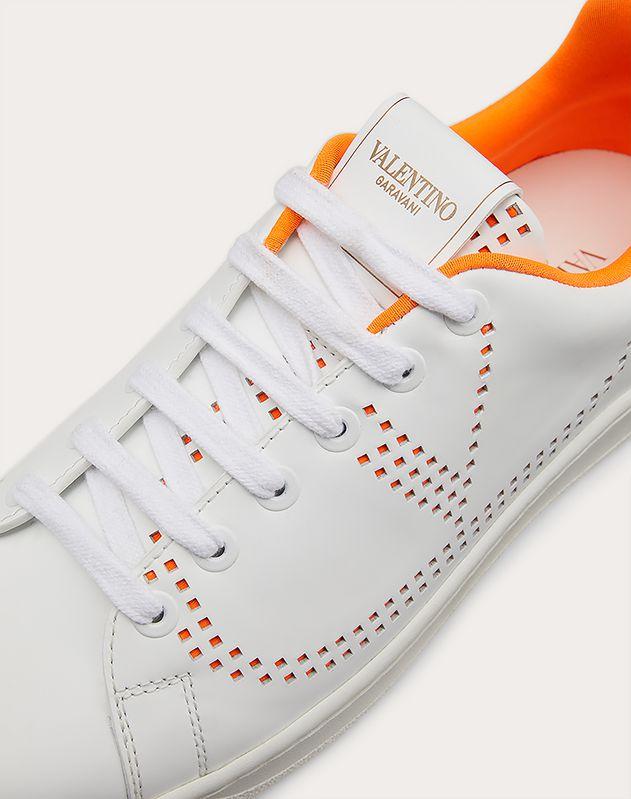 Sneakers BACKNET aus Kalbsleder