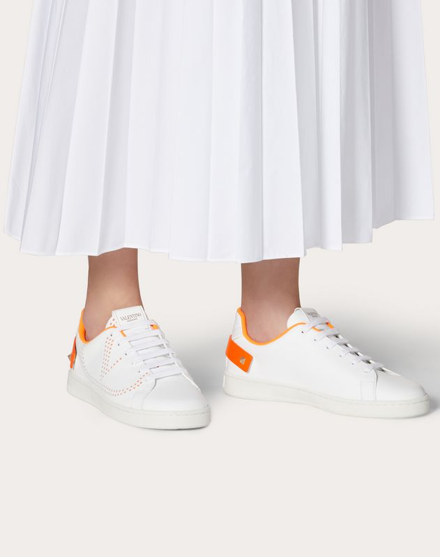 BACKNET Calfskin Sneaker