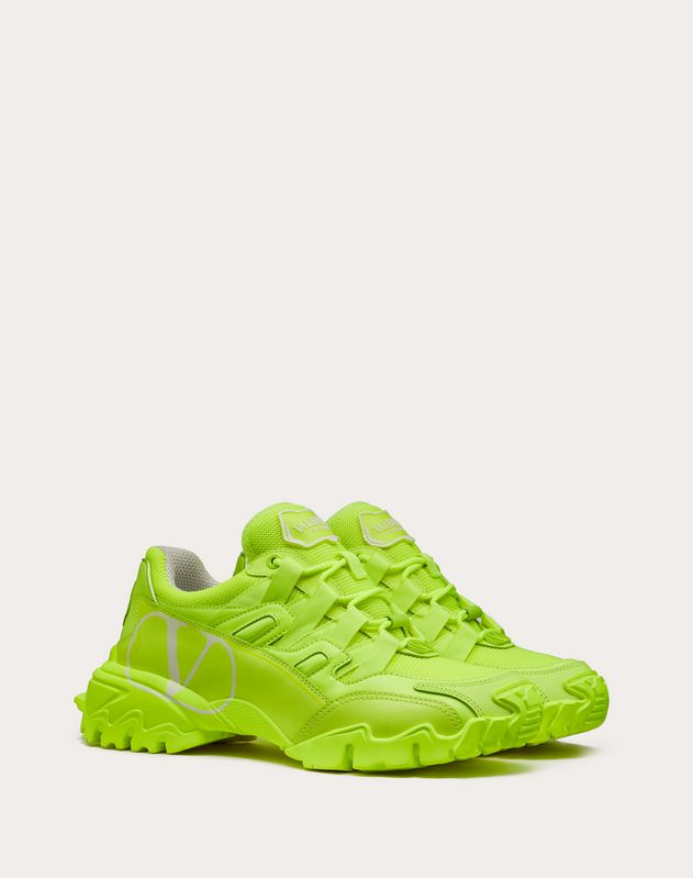 Valentino Garavani CLIMBERS sneaker in calfskin leather and fabric
