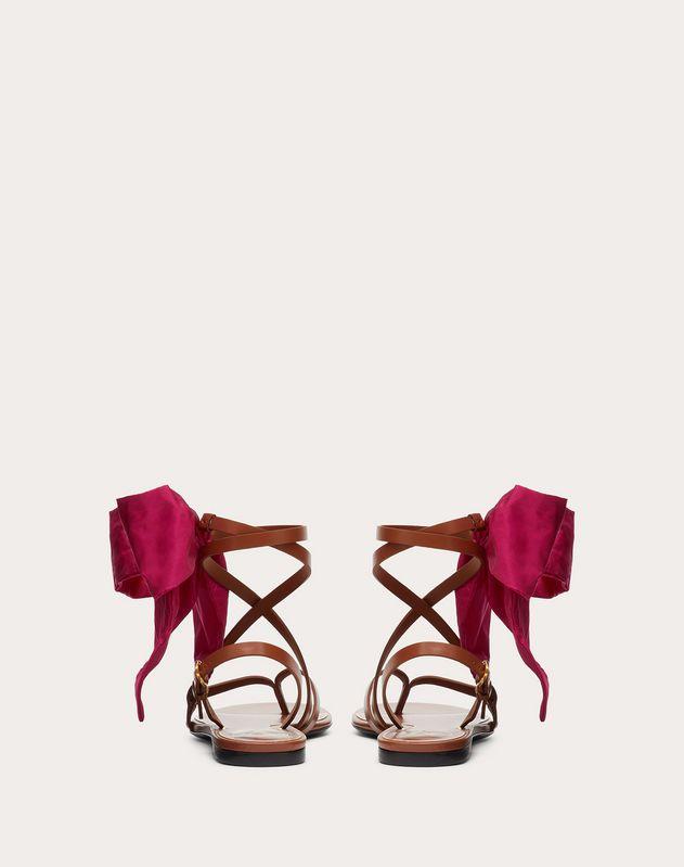 Soft Bow flat flip-flop sandal