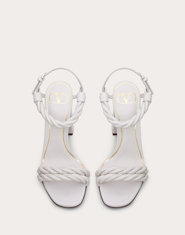 The Rope nappa sandal 100 mm