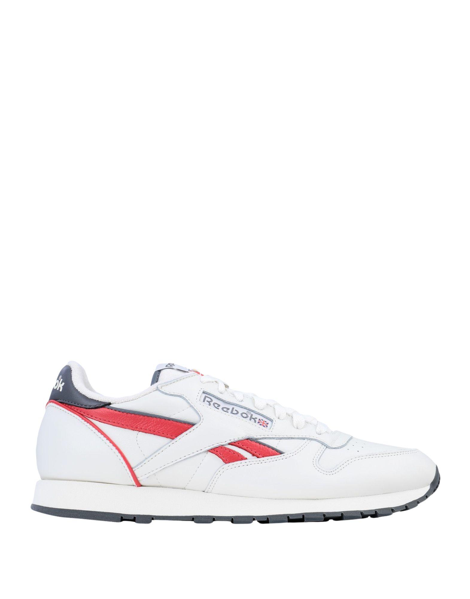 《セール開催中》REEBOK メンズ スニーカー&テニスシューズ(ローカット) ホワイト 7.5 革 CL LEATHER MU