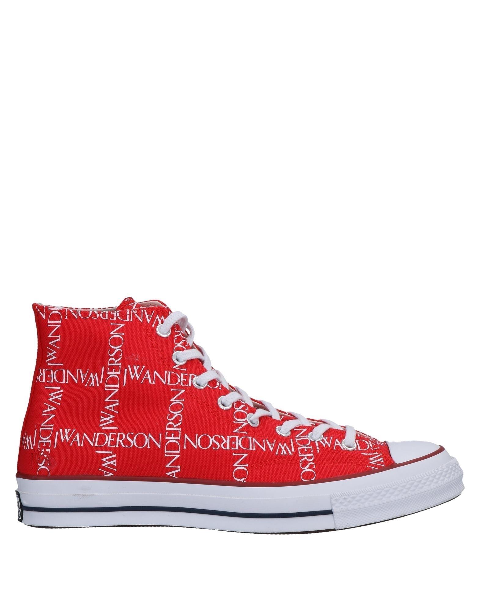 CONVERSE x JW ANDERSON Высокие кеды и кроссовки