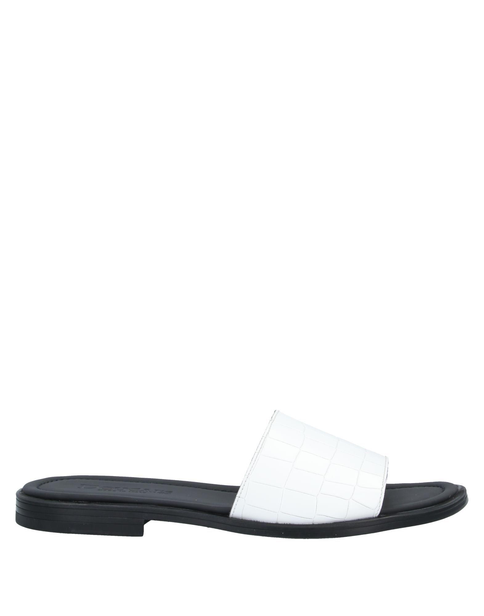 《セール開催中》DOUCAL'S メンズ サンダル ホワイト 41 革