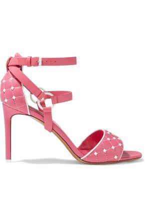 VALENTINO GARAVANI Free Rockstud Spike quilted leather sandals