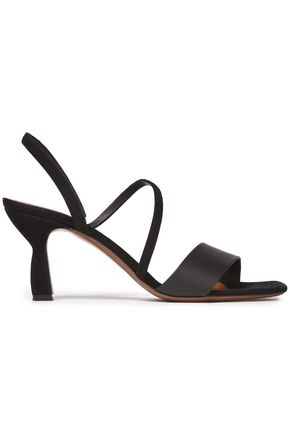 NEOUS Leather and suede sandals