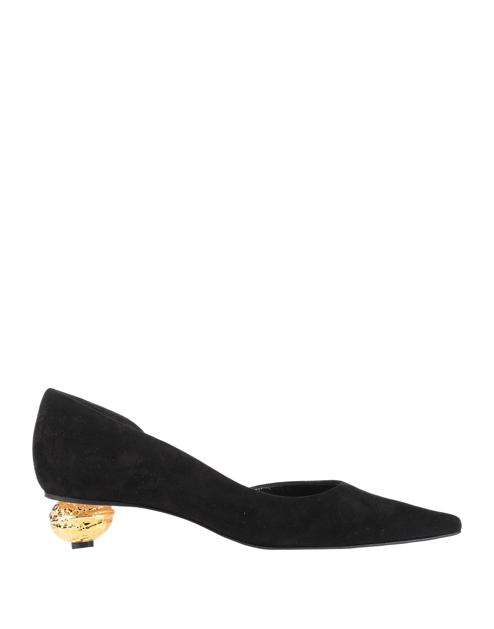 LOEWE Pumps. suede effect, no appliqués, solid color, narrow toeline, sculpted heel, leather lining, leather sole, contains non-textile parts of animal origin. Soft Leather