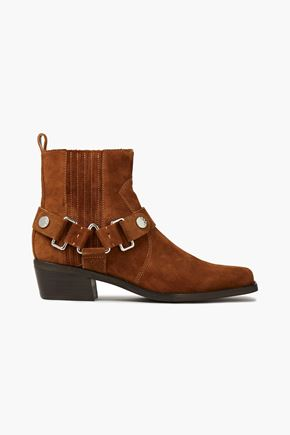 DKNY Mina suede ankle boots