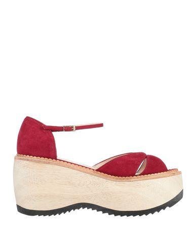 Фото - Женские сандали LENORA красно-коричневого цвета