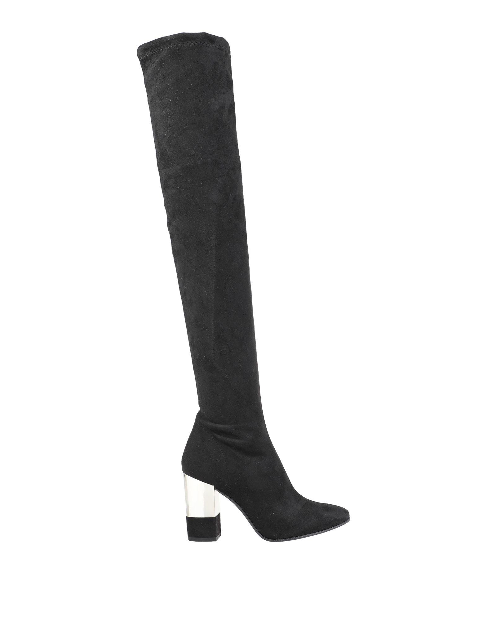 《セール開催中》DIVINE FOLLIE レディース ブーツ ブラック 35 紡績繊維