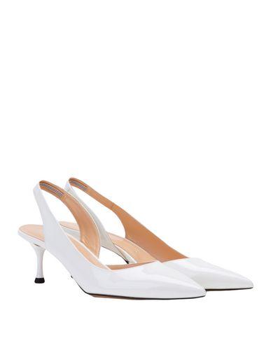 Фото 2 - Женские туфли BIANCA DI белого цвета
