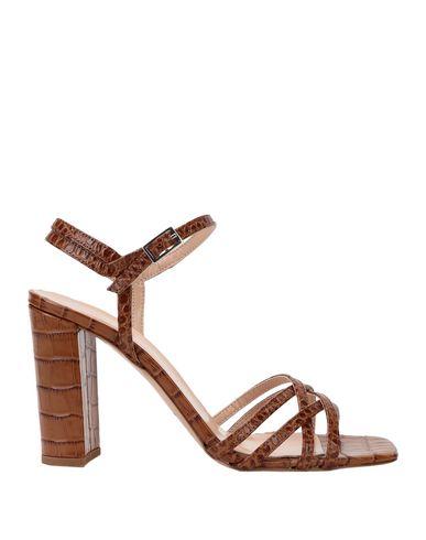 Фото - Женские сандали BIANCA DI желто-коричневого цвета
