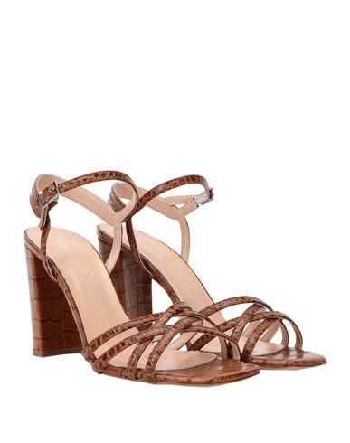 Фото 2 - Женские сандали BIANCA DI желто-коричневого цвета