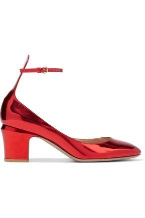 VALENTINO GARAVANI Tango mirrored-leather pumps