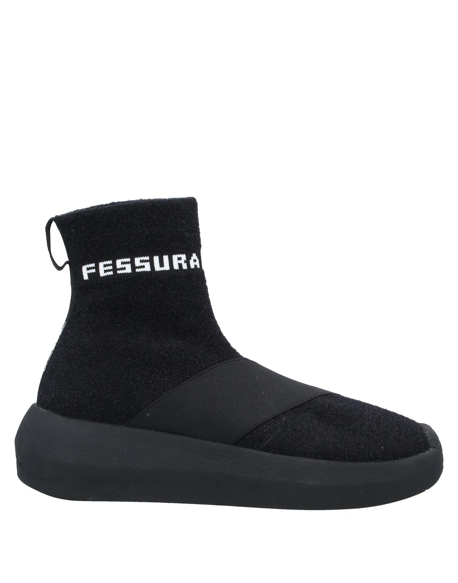 FESSURA Высокие кеды и кроссовки кроссовки fessura