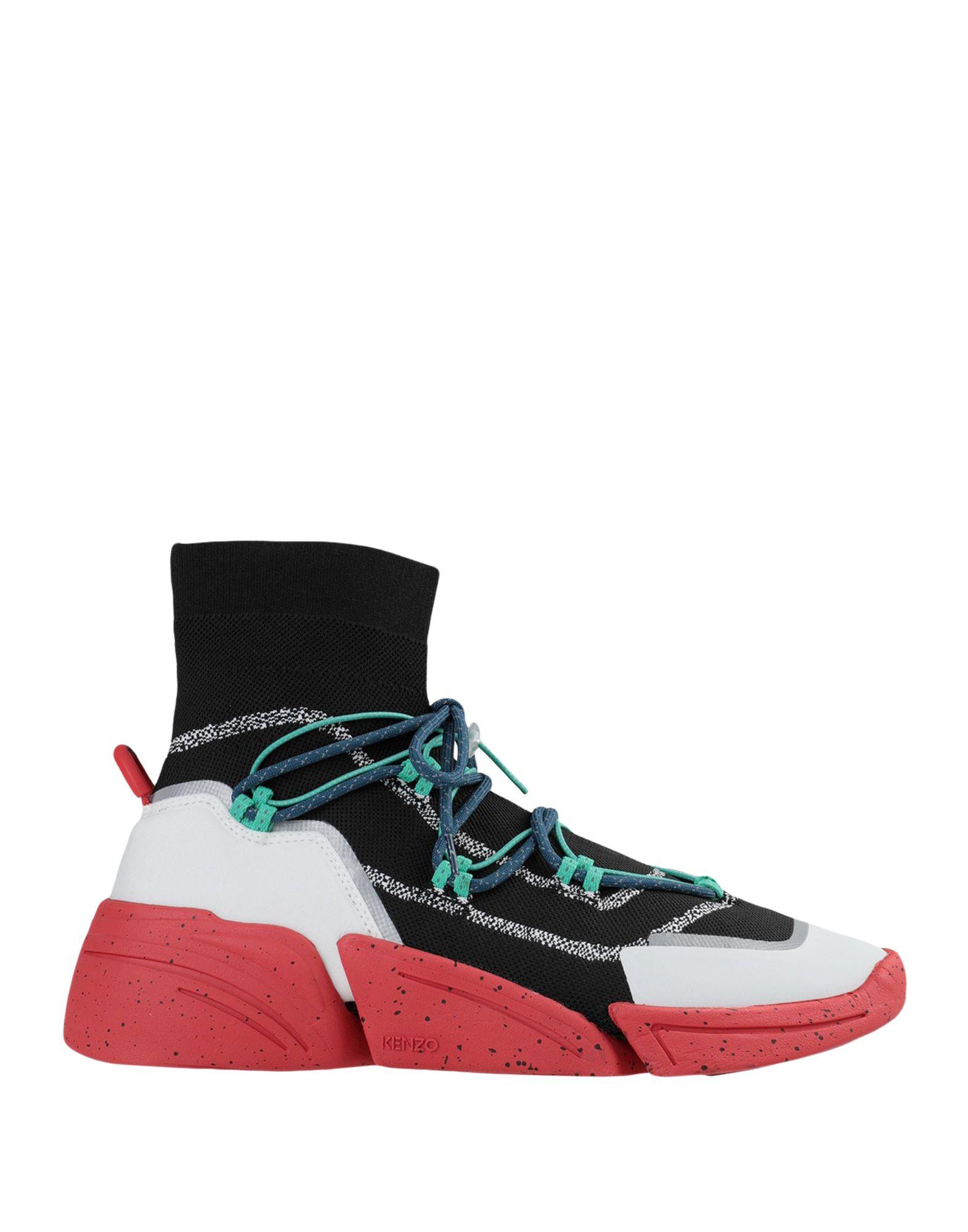 цена KENZO Высокие кеды и кроссовки онлайн в 2017 году