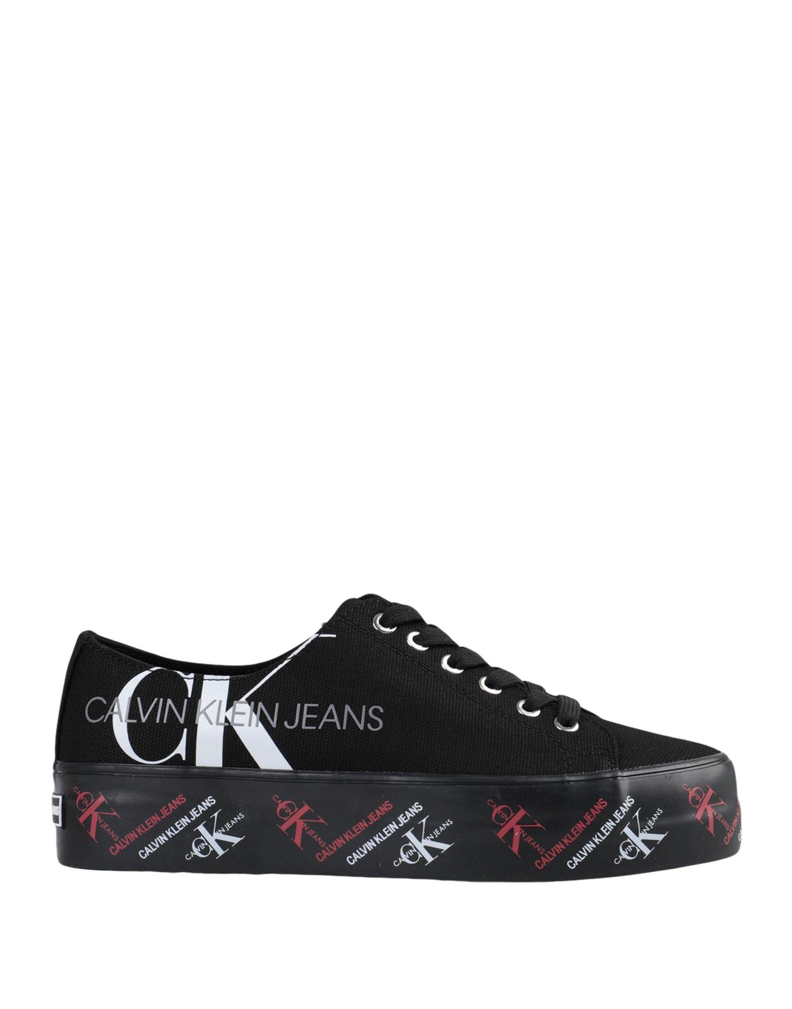 цены CALVIN KLEIN JEANS Низкие кеды и кроссовки