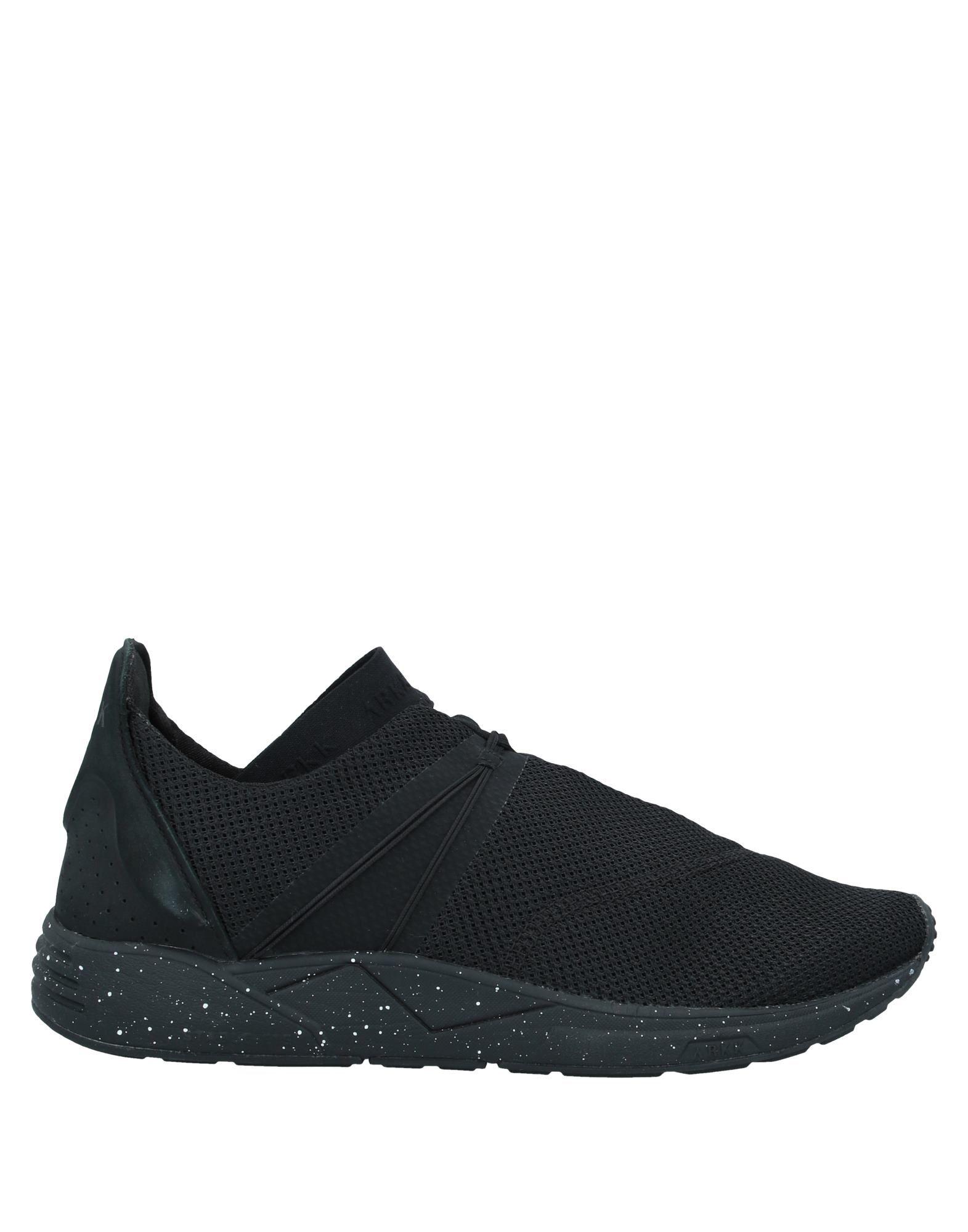 《セール開催中》ARKK COPENHAGEN メンズ スニーカー&テニスシューズ(ローカット) ブラック 46 革 / 紡績繊維