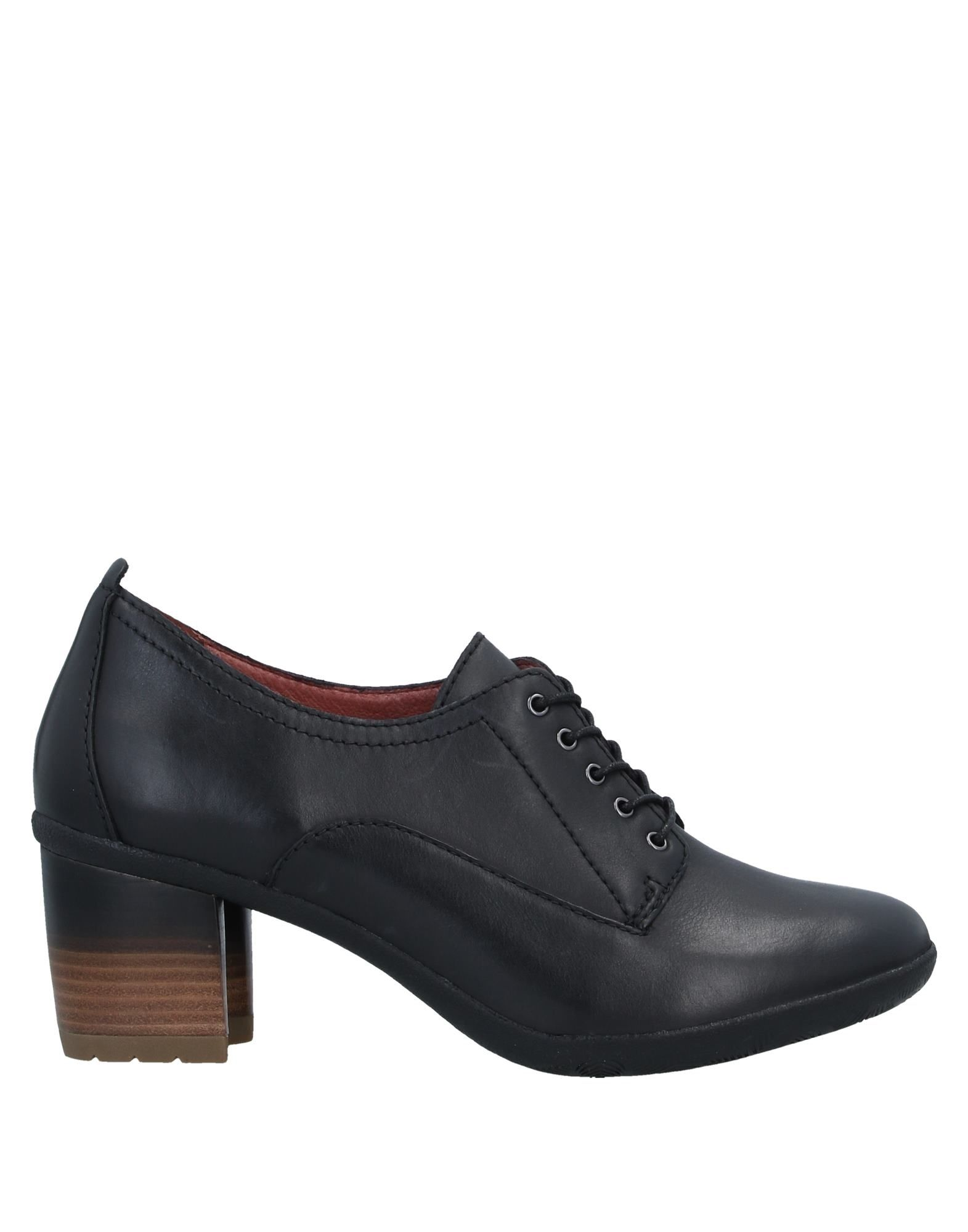 DANSKO Lace-up shoes. leather, no appliqués, solid color, round toeline, square heel, leather lining, rubber sole, contains non-textile parts of animal origin. Soft Leather