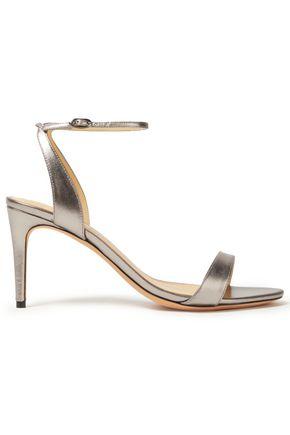 ALEXANDRE BIRMAN Metallic leather sandals