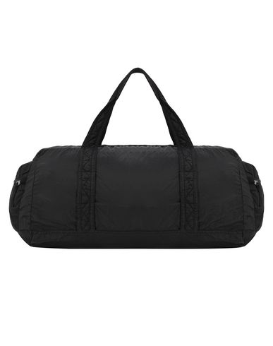 STONE ISLAND 91035 NYLON METAL WATRO RIPSTOP_PACKABLE Travel & duffel bag Man Black EUR 126