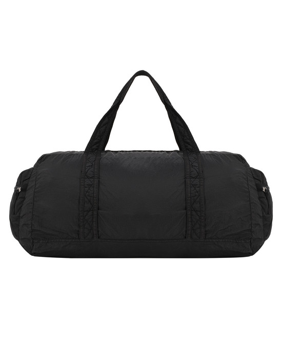 STONE ISLAND 91035 NYLON METAL WATRO RIPSTOP_PACKABLE Travel & duffel bag Man Black