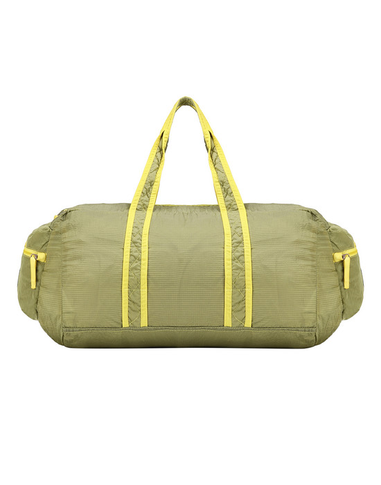 Travel & duffel bag Man 91035 NYLON METAL WATRO RIPSTOP_PACKABLE Front STONE ISLAND