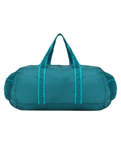 STONE ISLAND 91035 NYLON METAL WATRO RIPSTOP_PACKABLE Luggage Man Turquoise EUR 223