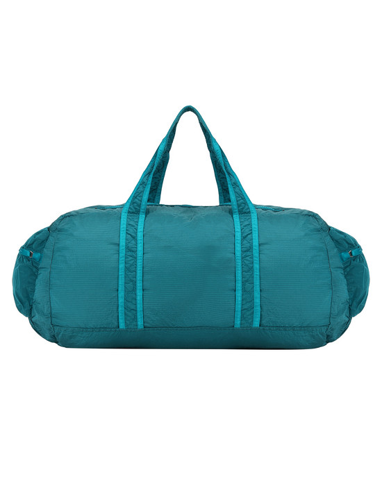 STONE ISLAND 91035 NYLON METAL WATRO RIPSTOP_PACKABLE Travel & duffel bag Man Turquoise