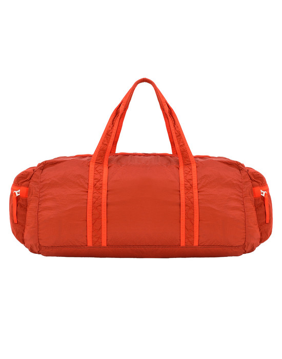 STONE ISLAND 91035 NYLON METAL WATRO RIPSTOP_PACKABLE Reisetasche Herr Helle Orange