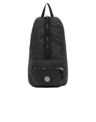 STONE ISLAND 90935 NYLON METAL WATRO RIPSTOP_PACKABLE Rucksack Man Black EUR 199