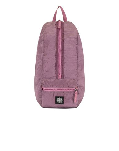 STONE ISLAND 90935 NYLON METAL WATRO RIPSTOP_PACKABLE Backpack Man Pink Quartz USD 178