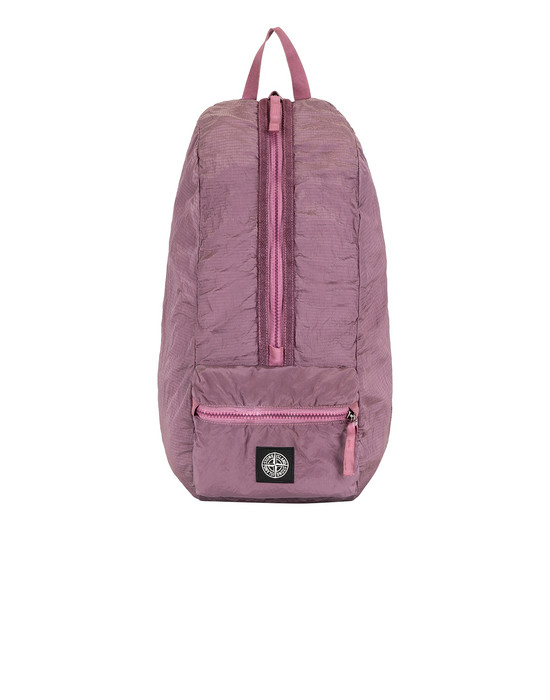 STONE ISLAND 90935 NYLON METAL WATRO RIPSTOP_PACKABLE Backpack Man Pink Quartz