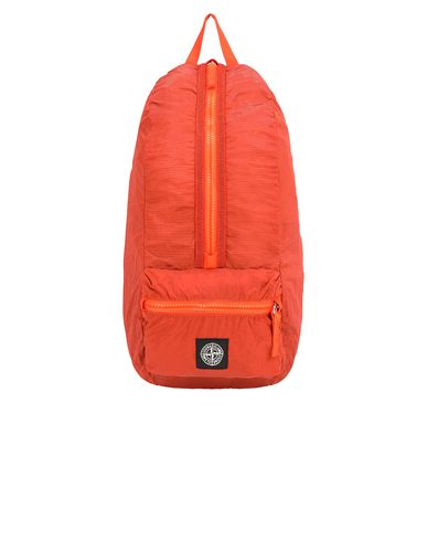 STONE ISLAND 90935 NYLON METAL WATRO RIPSTOP_PACKABLE Backpack Man Lobster Red USD 136