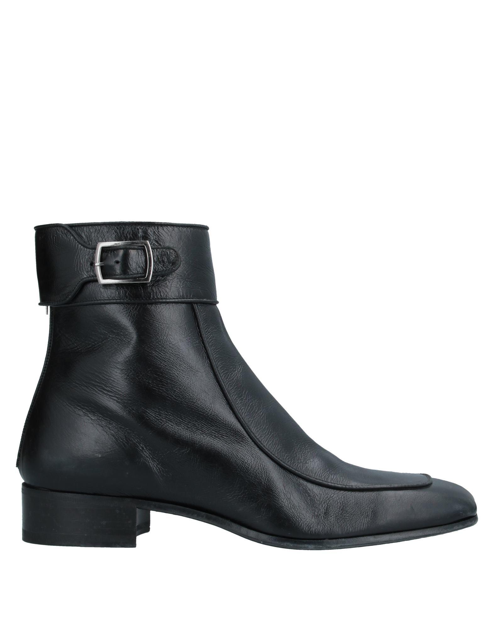SAINT LAURENT Полусапоги и высокие ботинки ботинки tapiboo размер 30 черный