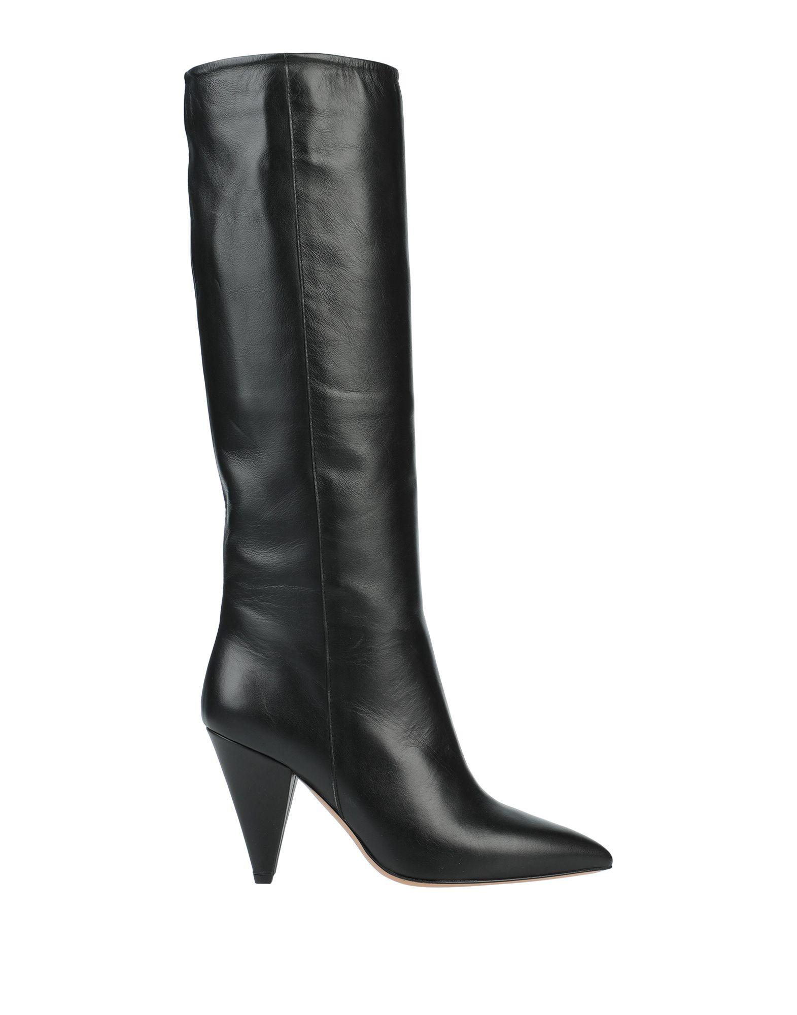 《セール開催中》THE SELLER レディース ブーツ ブラック 36 牛革(カーフ)