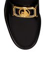 LANVIN Loafers Woman SWAN LOAFERS IN BRUSHED LEATHER f