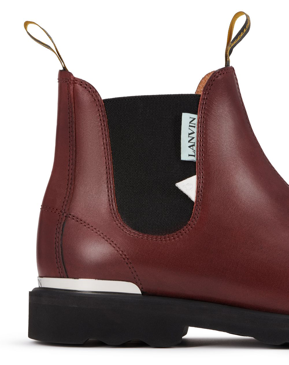 LEATHER LEGION BOOTS - Lanvin