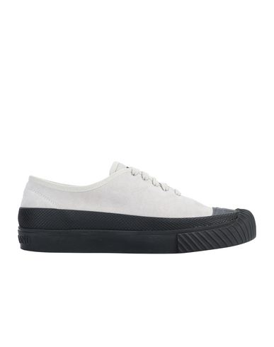STONE ISLAND S0165 SUEDE DECK SHOE Man Dove Grey EUR 349