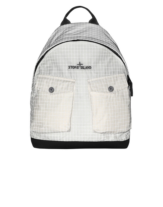 Backpack 91398 REFLECTIVE RIPSTOP CHINÉ STONE ISLAND - 0